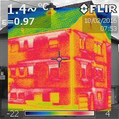 Kalte Jahreszeit - Thermografie Zeit